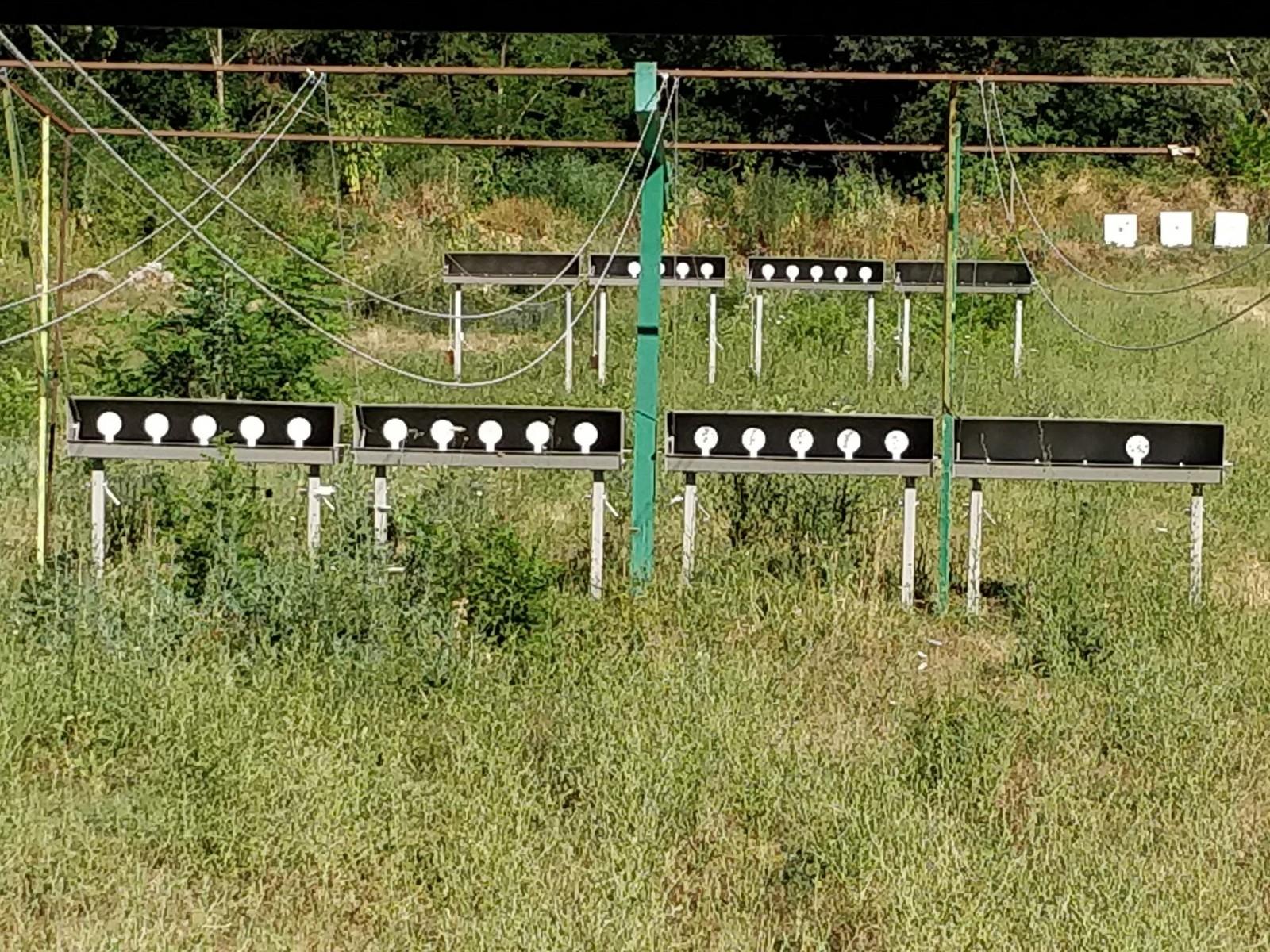 Le pas de tir 25/50m T.A.R. petit calibre de 4 postes - vue 02