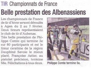 La Tribune - Article 2015-02-12