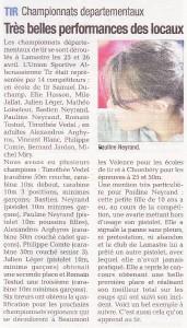 La Tribune - Article 2015-04-30