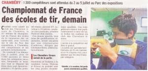 Le Dauphiné Libéré - Article 2015-07-02