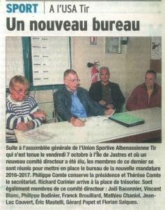 Le Dauphiné Libéré - Article 2016-10-13